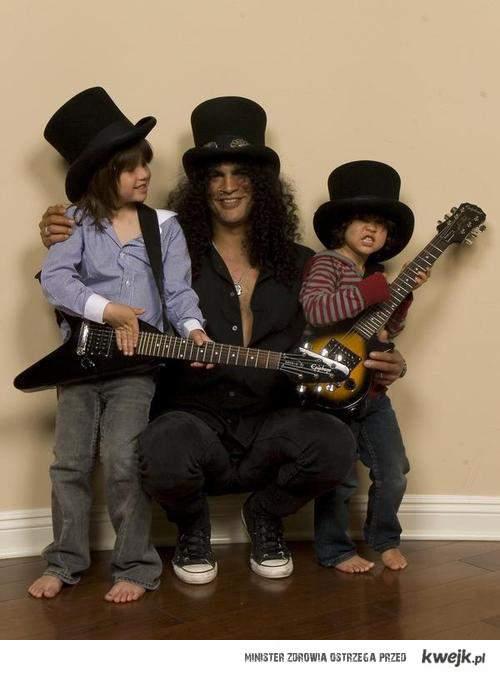 slash and his kids