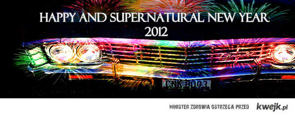 happy and supernatural new year 2012