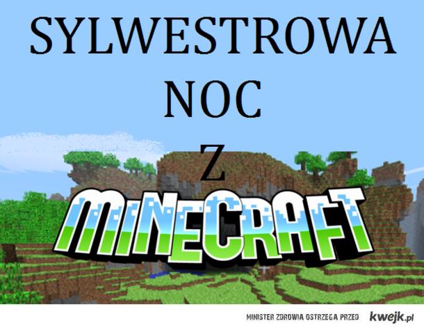 Noc Sylwestrowa Z Minecraft