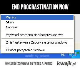Koniec prokrastynacji