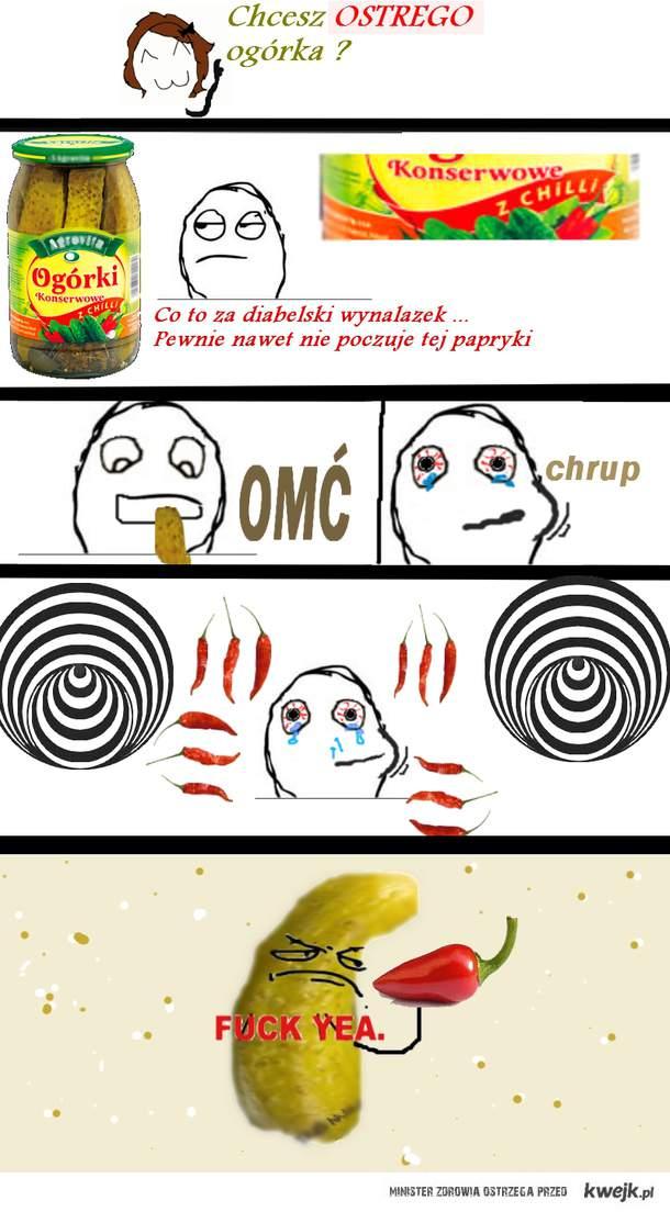 ostry ogórek