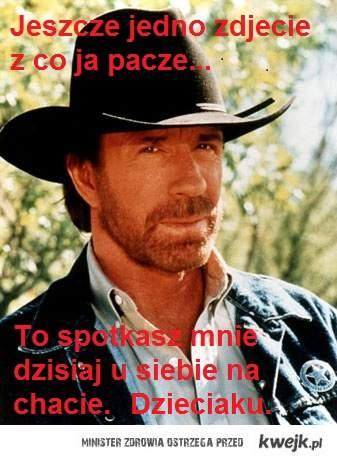 Chuck nie paczy