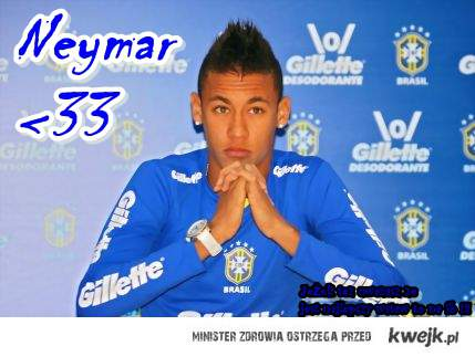 Neymar da Silva Santos Júnior.♥