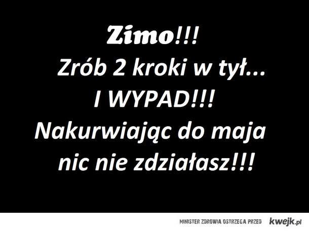 Zima - won!