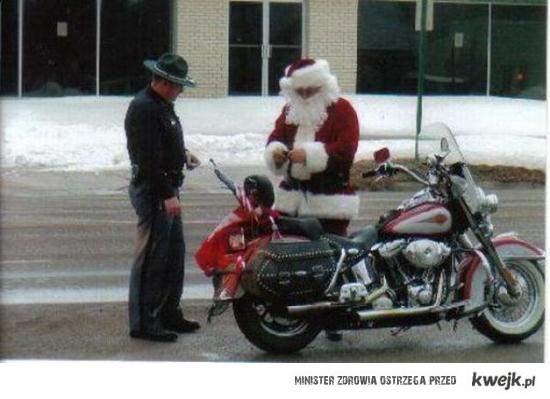Mikołaj złapany!