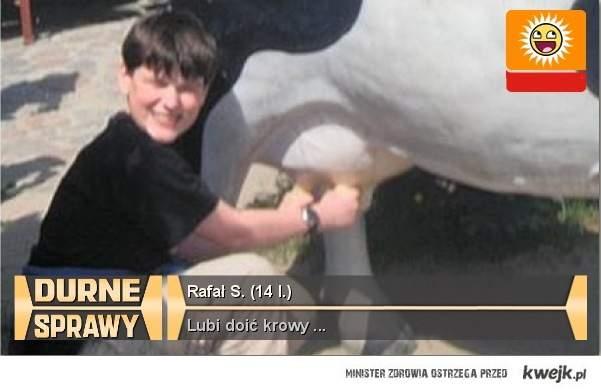 rafał doi krowy !