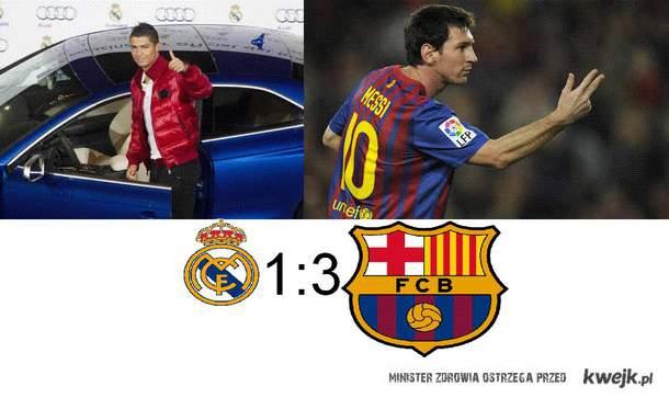 Real 1:3 Barca