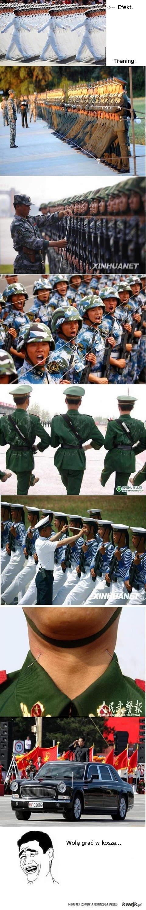 chińska musztra
