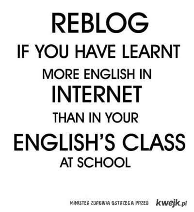 angielski z internetu