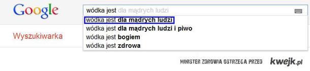 Wujek Google o wódce