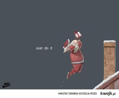 christmas, JUST DO IT