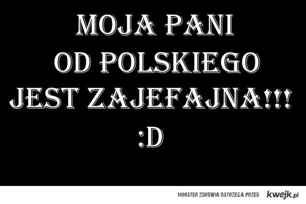 Pani od polskiego