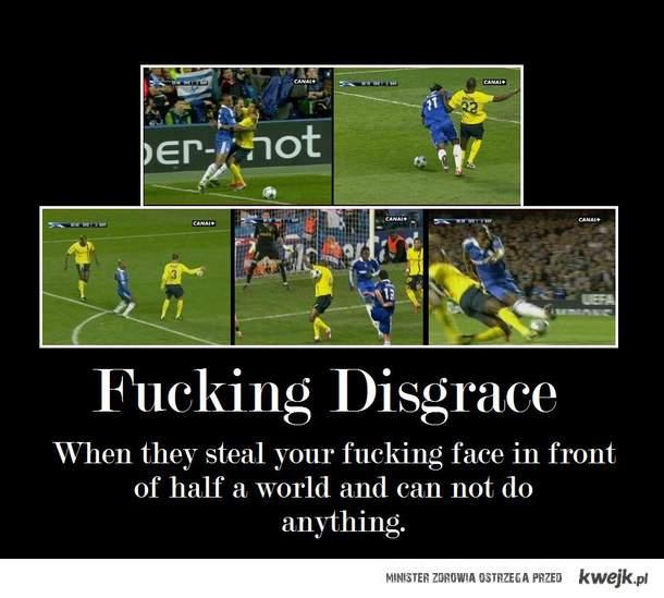 fucking disgrace