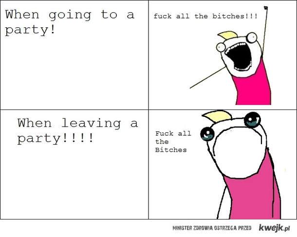 Przed i po imprezie