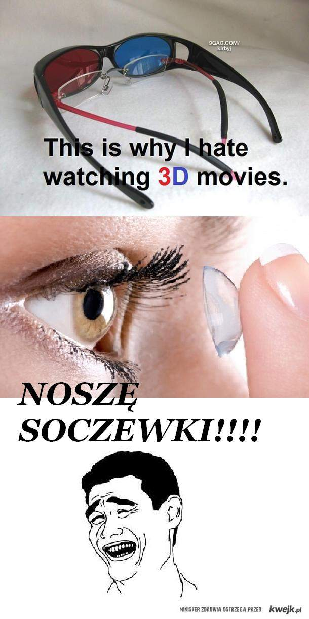 nosze soczewki