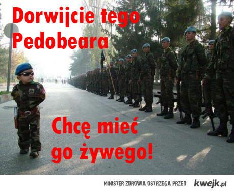 Dorwać Pedobear'a!