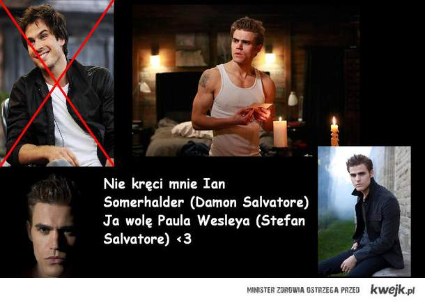Paul Wesley Stefan Salvatore <3