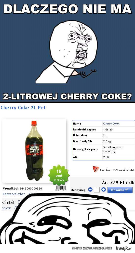 Cherry Coke 2L