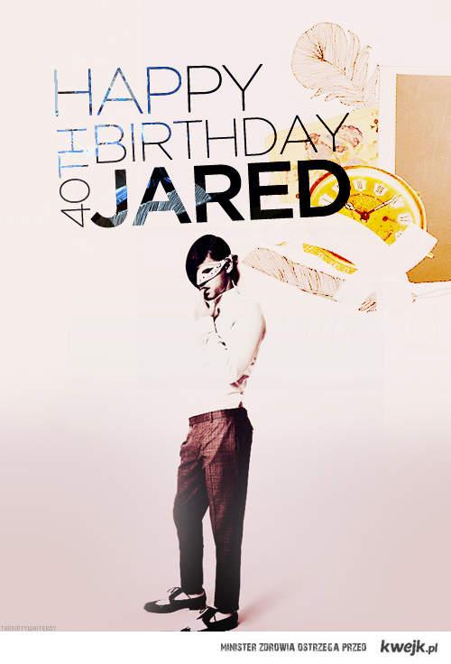 happy birthday jared !