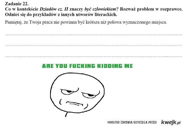 Próbny egzamin gimnazjalny...