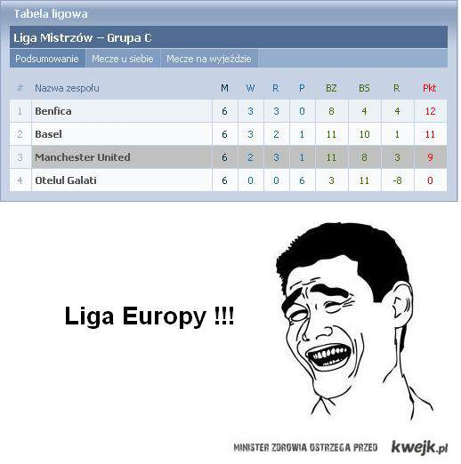 Liga europy man u xD