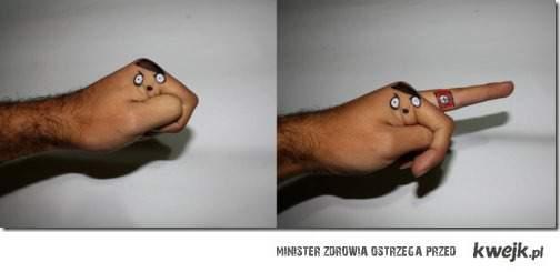hitlerowa dłoń