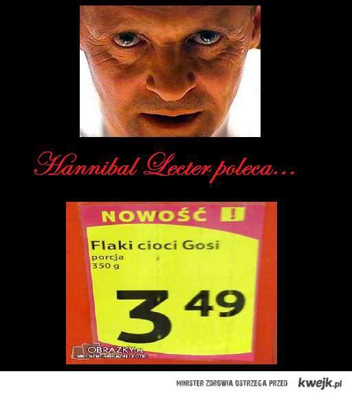 Hannibal Lecter poleca