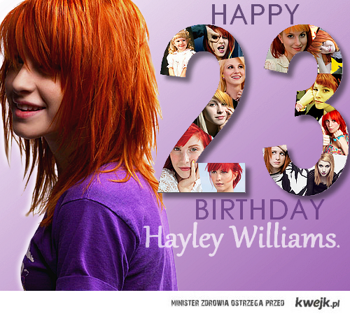 Happy Birthday Hayley <3