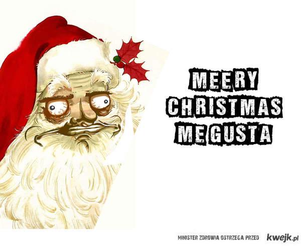 Merry christmas me gusta