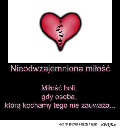 Nieodwzajemniona miłość : (
