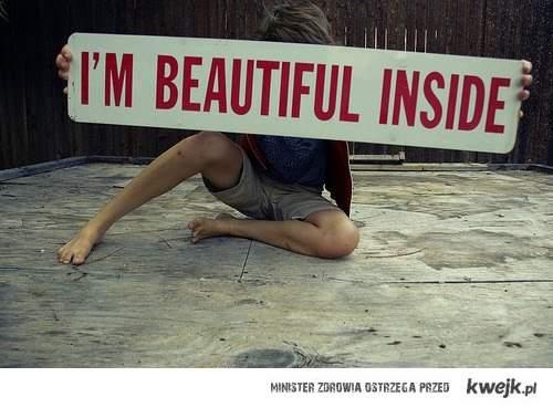 Inside..