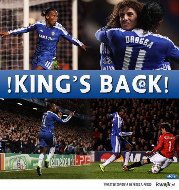 Drogba King!
