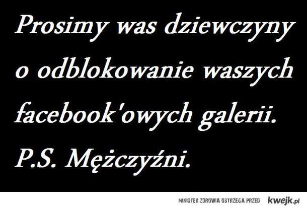 Facebook'owe galerie