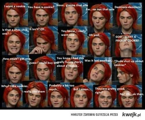 Cookies and Gerard Way