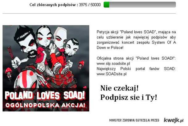 http://www.petycjeonline.pl/petycja/poland-loves-soad/388