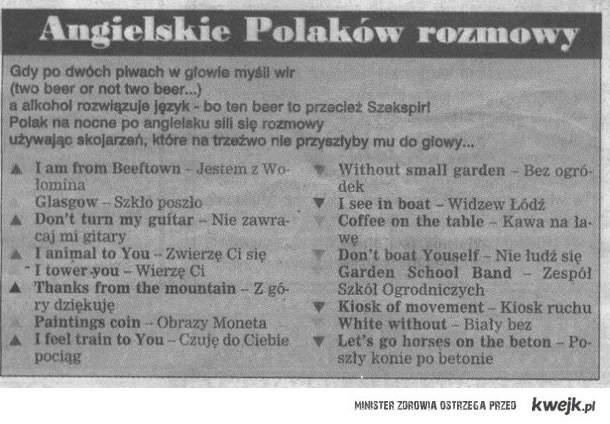 Polski angielski