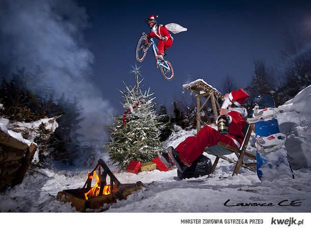Święty Mikołaj wersja Extream