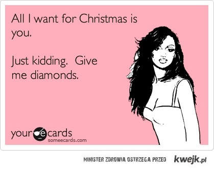 diamenty na święta