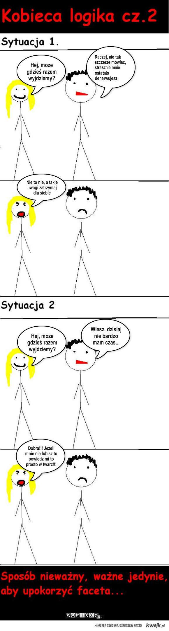 Kobieca logika cz.2