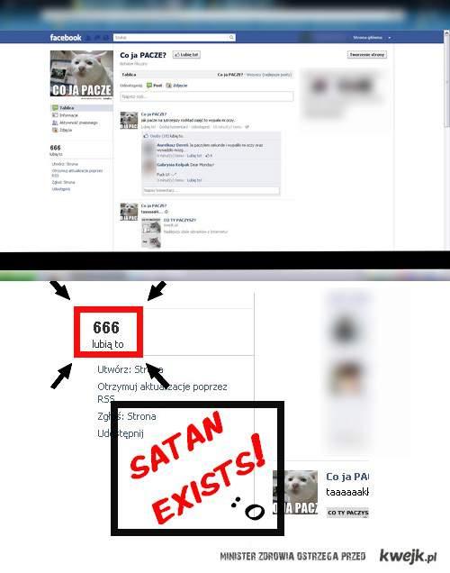 Satan exists!