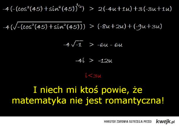 matematyczne love