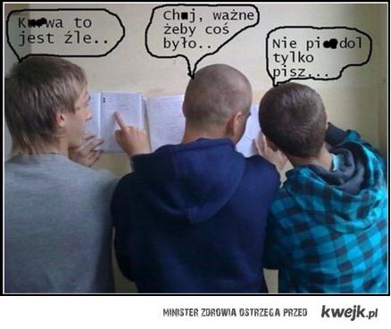 realia polskiej szkoły :)