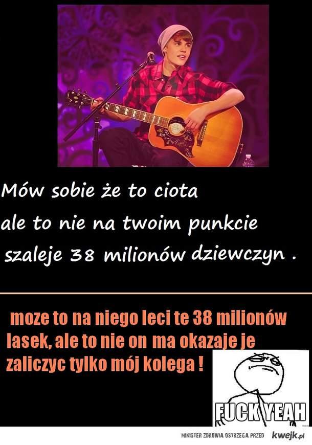 Justin Bieber vs brat mojej friend