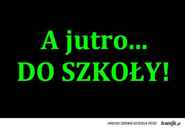 do szkoly