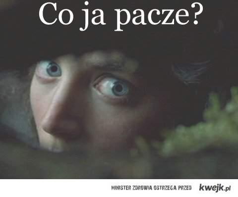 Frodo: Co ja pacze?