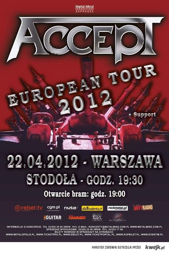 Accept w Polsce \m/