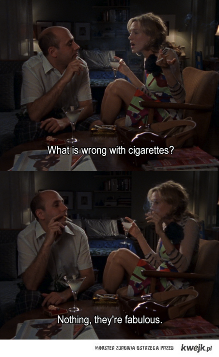 What's wrong with cigarettes?