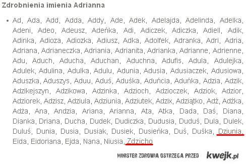 Adrianna - Zdzicho