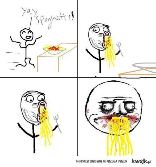 me gusta spaghetti