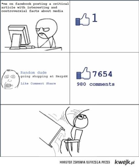 Przekazywanie informacji na fb